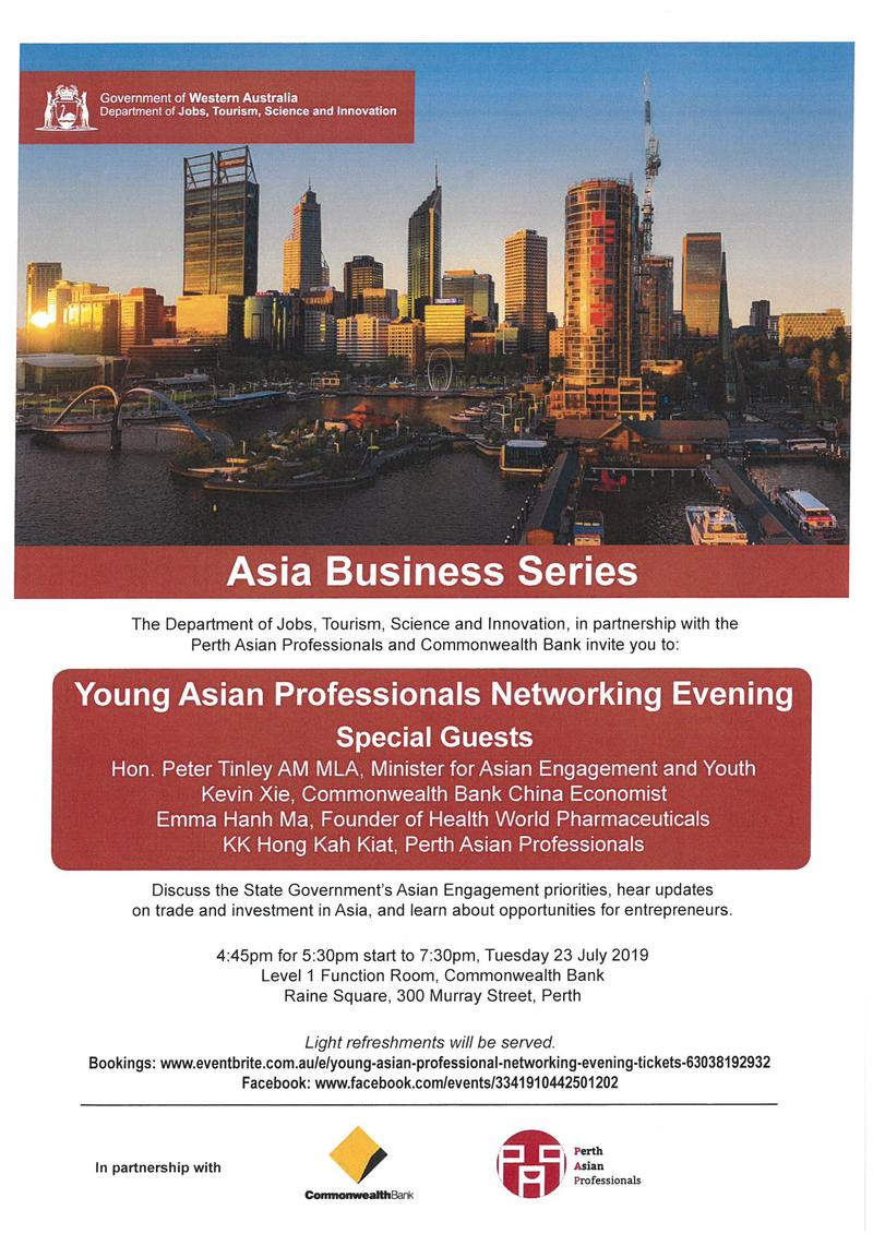 Young Asian Professionals Networking Evening
